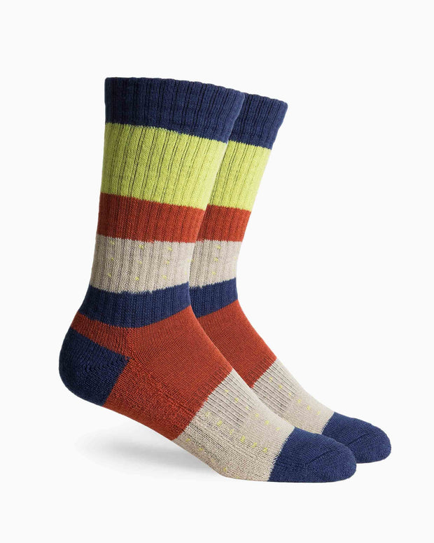 Richer poorer austin merino wool sock