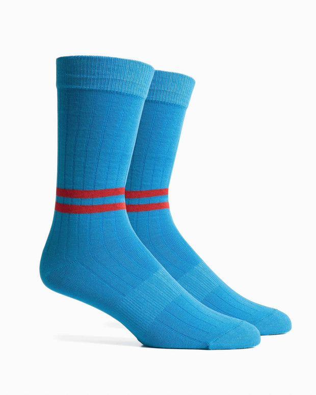 Richer poorer bixby classic crew blue red