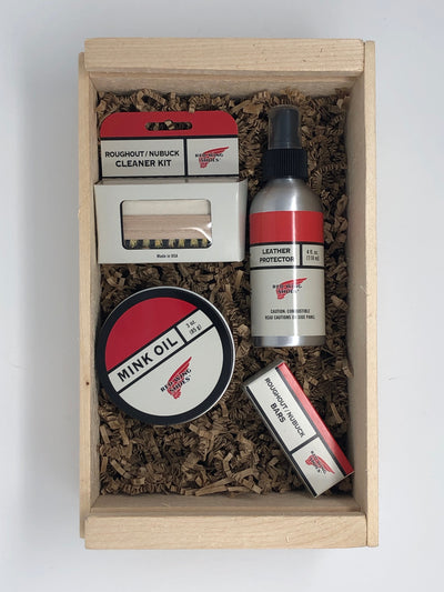 roughout cleaning kit by red wing brands