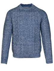 schott nyc pullover cable knit sweater