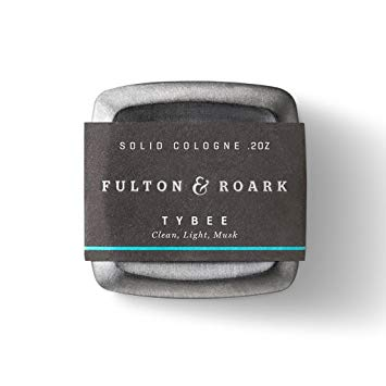 Solid cologne from Fulton and Roark