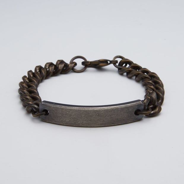 ID bracelet for men and women