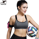CUFFLLE Sports Bra For Running Yoga Gym Fitness