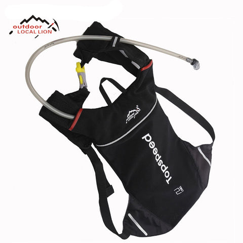 LOCAL LION Water Backpack Cycling Backpack Outdoor Bicycle Bike Bag Hydration System Bike Backpack And 1.5L Water Bag