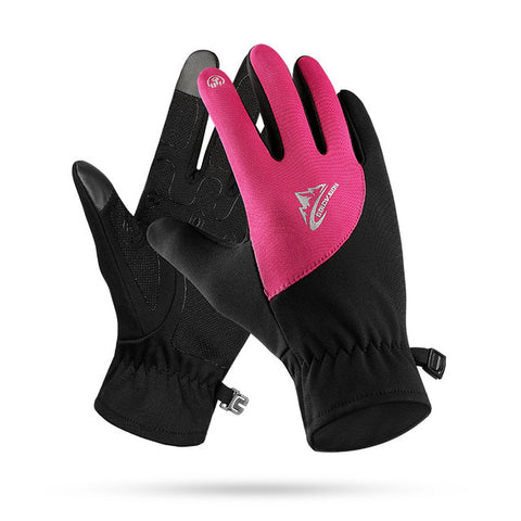 Men Women Winter Running Gloves