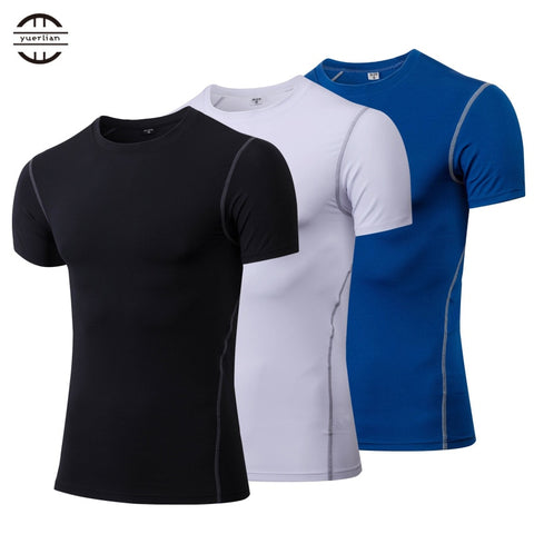 YUERLIAN Men's Running Shirt Compression