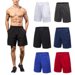 AOLIKES Men's Running Shorts With Pockets