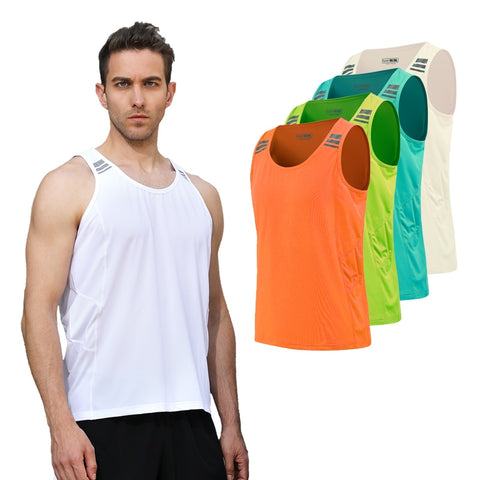KACIGEYA Mens Running  Sleeveless Shirt