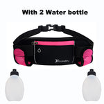 Running Belt Bag Waist, 2 water bottles