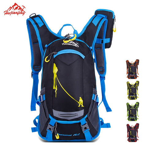 Waterproof Bicycle Backpack With Optional Water Bag
