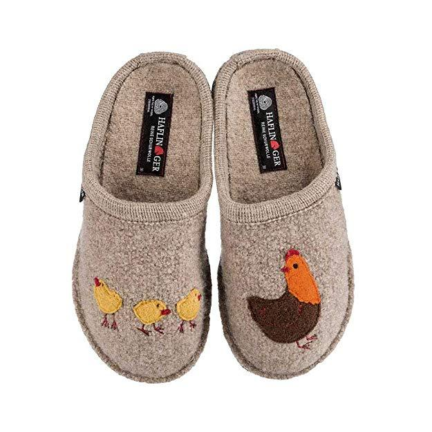 Haflinger Gallina Wool Slippers