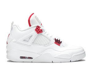 Air Jordan 4 'Metallic Red'