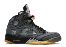 Load image into Gallery viewer, Air Jordan 5 'Off-White' Black