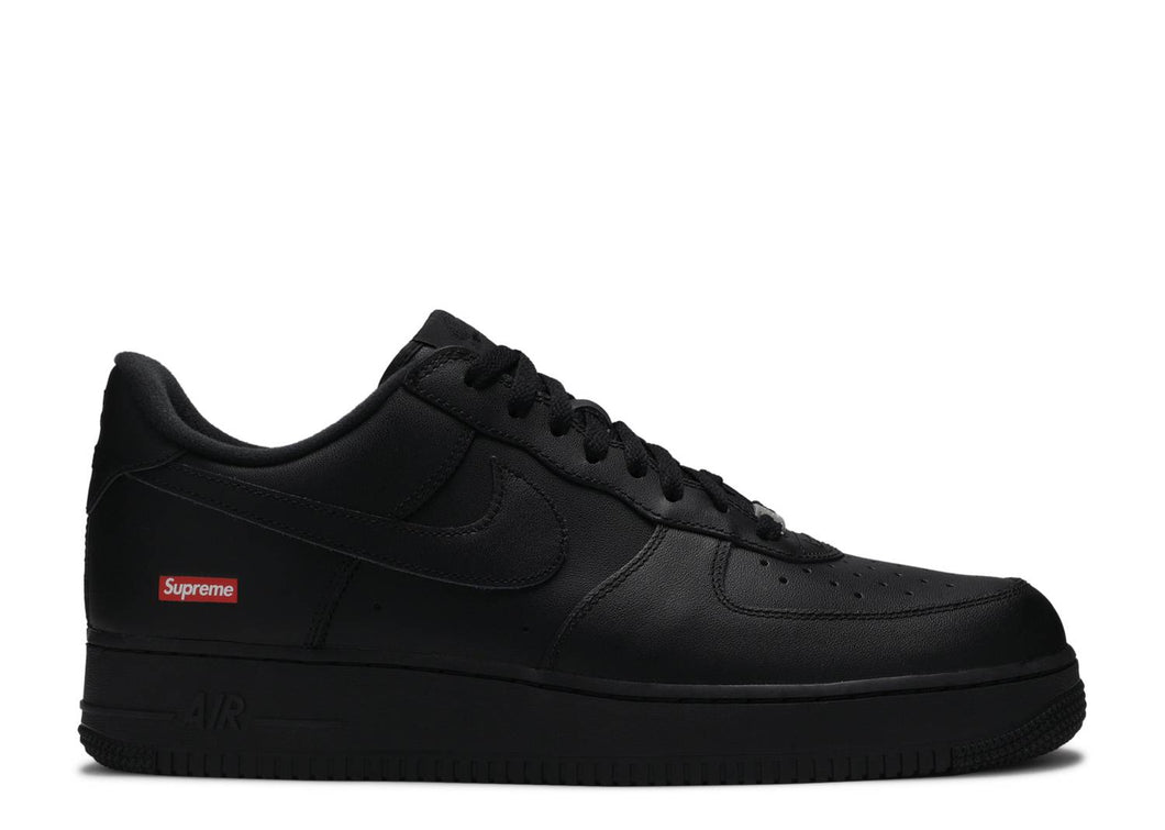 Nike Air Force 1 x Supreme 'Black'