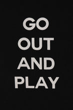 Load image into Gallery viewer, Exhibit Amsterdam 'Go Out And Play' T-shirt