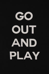 Exhibit Amsterdam 'Go Out And Play' T-shirt