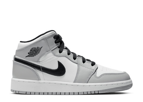 Air Jordan 1 Mid 'Light Smoke Grey' (GS)