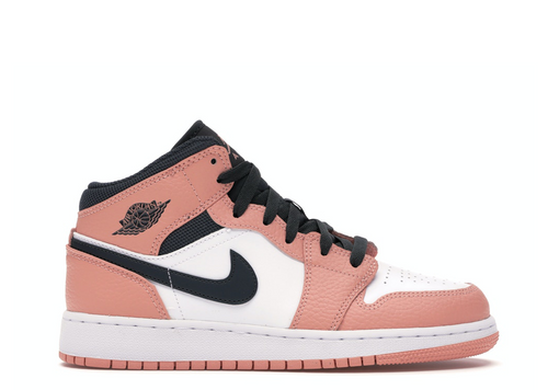 Air Jordan 1 Mid 'Pink Quartz' (GS)