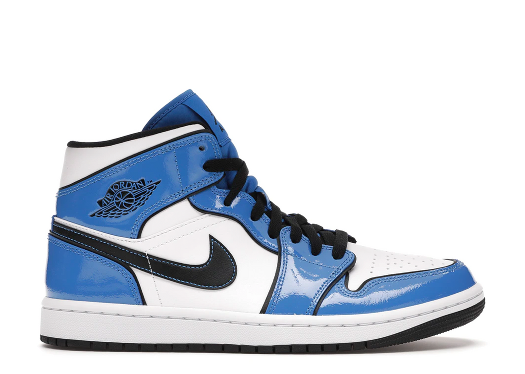 Air Jordan 1 Mid 'Signal Blue'