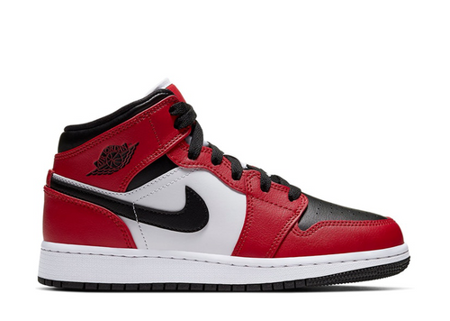 Air Jordan 1 Mid 'Chicago Black Toe'