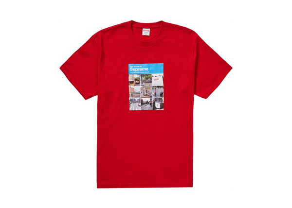 Supreme Verify Tee 'Red'