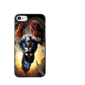 CAPA MARVEL / DC IPHONE - RÍGIDA - 2018