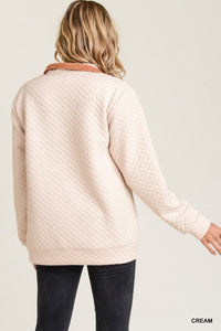 The Jess Pullover in Beige