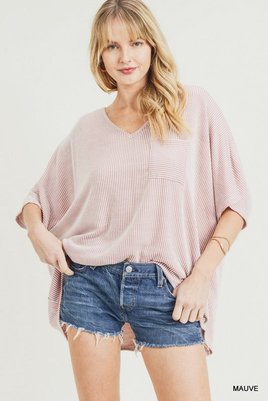 The Jemma Top in Mauve