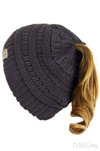 Kids High Pony Beanie