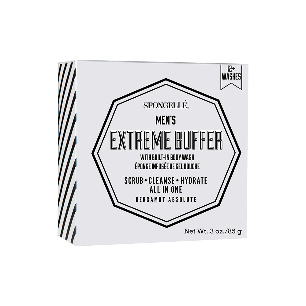 Spongellé - 12+ Men's Extreme Buffer (Bergamot Absolute)
