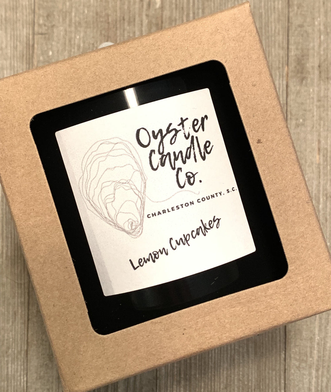 Oyster Candle Company - Lemon Cupcakes Candle