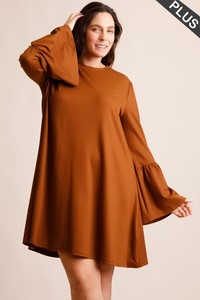 The Ami Dress in Toffee