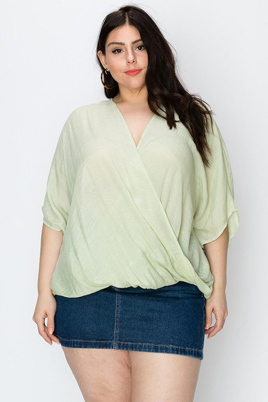 The Susan Top in Sage
