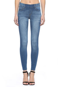 The Mid Rise Pull On Skinny Jeans