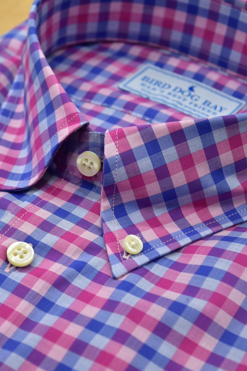 Stirling Cotton Shirt by Bird Dog Bay