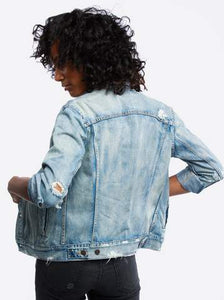 The Jacket in Merly Wash by ABLE