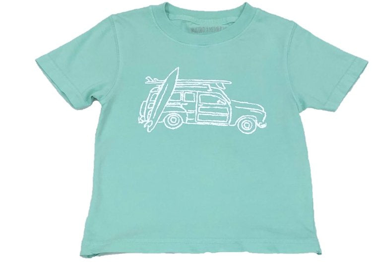 Woody Wagon Tee by Mustard and Ketchup Kids