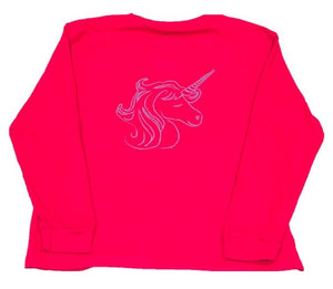 ffa7f740 Long Sleeve Unicorn Tee by Mustard & Ketchup Kids – Roots Clothing ...