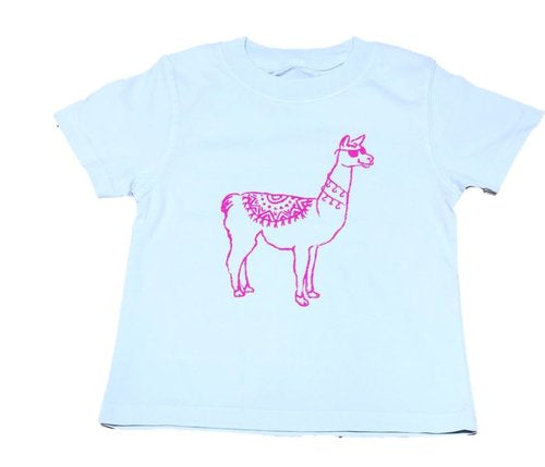 Llama Tee by Mustard and Ketchup Kids