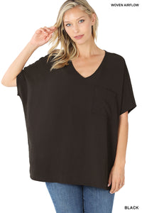 The Charlotte Top in Black