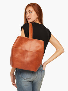 The Selam Backpack in Whiskey by ABLE