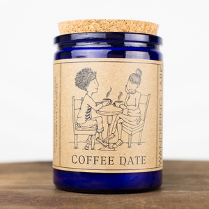 Wandering Lark - Coffee Date Soy Candle 12 oz