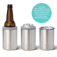 SWIG - Navy 12oz Combo Cooler