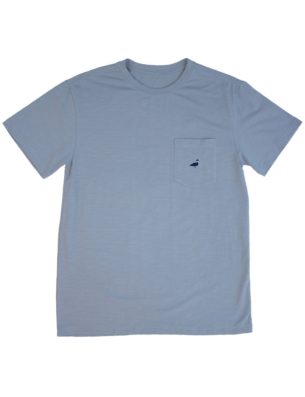 Lil Ducklings Shore Tee in Salt Blue by Properly Tied