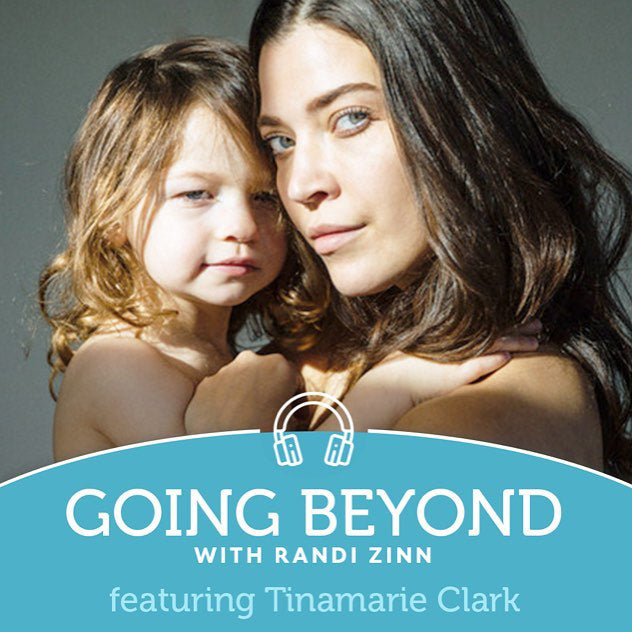 Featured on Beyond Mom Podcast with Randi Zinn, speaking on vulnerability and courage.