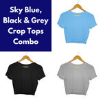 Plain Men's Half Sleeve Tee Combo