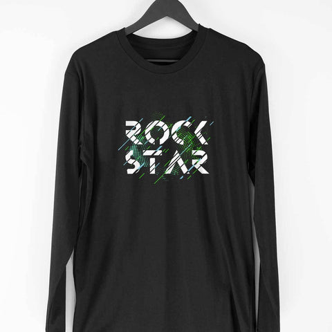Rock Star Men's Full Sleeve Tee - Shor Bazaar