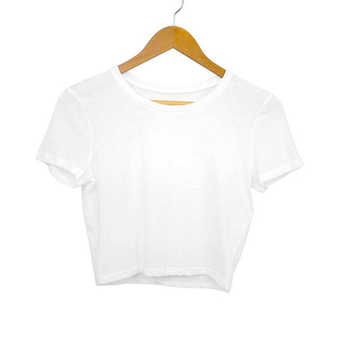 Plain Women's Crop Top - Shor Bazaar