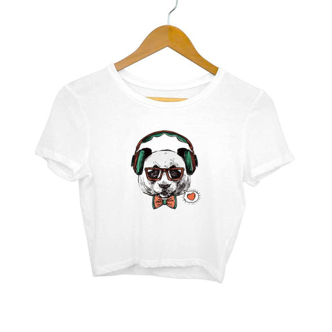 Headphone Dog Women's Crop Top - Shor Bazaar