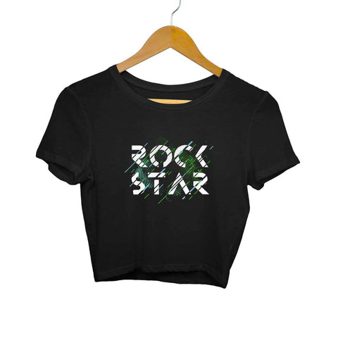 Rock Star Women's Crop Top - Shor Bazaar
